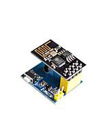 Недорогие -esp8266 esp-01 ds18b20 датчик температуры и влажности модуль беспроводной связи WiFi