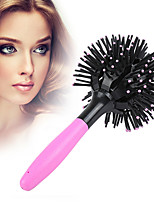 cheap -360 degree Ball Styling bomb curl 3D Hair Curler Brushes make-up Blow Drying Detangling Homodisperse Heat Comb styling