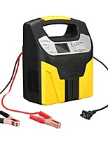 cheap -12V/24V 15A Smart Car Motorcycle Battery Intelligent Charger LCD Pulse Repair Van Boat Bike