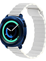 cheap -Soft Strap For Samsung Galaxy 42 MM / 46 MM Gear S3 Galaxy watch Active Watch 20mm 22mm Genuine Leather Strap Quick Release Bracelet