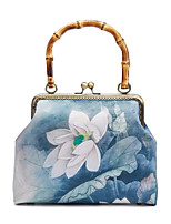 cheap -Women's Chain Polyester Evening Bag 2020 Solid Color Blue