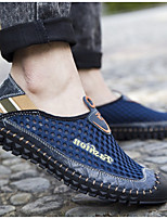 cheap -Men's Spring & Summer Casual Daily Sneakers Mesh Green / Blue / Brown
