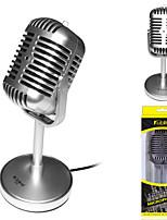 Недорогие -микрофон динамический микрофон более -67дБ проводной 2,2 Ом для студийной записи&усилитель; вещательный ноутбук