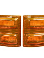 cheap -Pair LED Side Mirror Marker Lights Amber For Ford F250 F350 F450 F-550 Super Duty 2008-2016