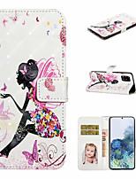Недорогие -Ase для Samsung Galaxy A71 A51 чехол для телефона искусственная кожа материал 3d окрашенный рисунок телефон чехол для a20e a10e a10 a20 a30 a40 a50 a70 a7 2018