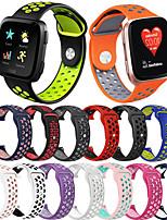 cheap -Sport Silicone Watch Band Wrist Strap For Fitbit Versa 2 / Versa lite / Versa Replaceable Bracelet Wristband
