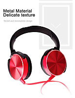 Недорогие -xb450 проводной наушник металл тяжелый бас качество музыки наушники с микрофоном
