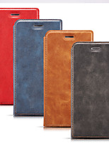 cheap -Case For Samsung Galaxy S9 / S9 Plus / S8 Plus Card Holder / Shockproof / Dustproof Full Body Cases Solid Colored PU Leather / Genuine Leather / TPU