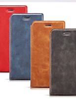 Недорогие -Кейс для Назначение SSamsung Galaxy S9 / S9 Plus / S8 Plus Бумажник для карт / Защита от удара / Защита от пыли Чехол Однотонный Кожа PU / Настоящая кожа / ТПУ