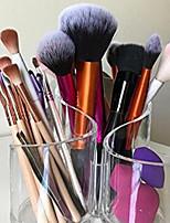 cheap -1 Pc Transparent Makeup Brush Eyebrow Pencil Storage Box Creative Makeup Desktop Storage Bucket