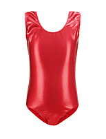 cheap -Rhythmic Gymnastics Leotards Artistic Gymnastics Leotards Girls' Kids Dancewear Spandex Stretchy Breathable Sleeveless Training Dance Rhythmic Gymnastics Athletic Artistic Gymnastics Black
