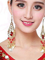 cheap -Dance Accessories Accessories Women's Training / Performance Metal Crystals Earrings