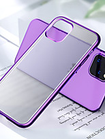 cheap -Matte Plating Clear Phone Case For iPhone SE 2020 / 11 / 11 Pro /11 Pro Max Cases For iPhone 6 / 6Plus  / 7 / 7 Plus /  8 /8 Plus / X / XS / XR / XS Max Soft Candy Color Cover Capa Fundas