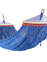 cheap -Camping Hammock Outdoor Breathability Wearable Reusable Adjustable Flexible Folding Nylon PVA for 2 person Hunting Hiking Beach Blue Red Green 26*14 cm Pop Up Design
