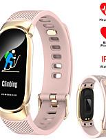 Недорогие -696 QW16 Универсальные Умные браслеты Android iOS Bluetooth Водонепроницаемый Пульсомер Измерение кровяного давления Спорт Информация