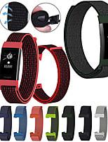 Недорогие -мода замена нейлоновый браслет ремешок для зарядки fitbit 3 группы красочные дышащий эластичный ремешок на запястье для зарядки fitbit 3