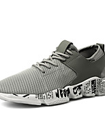 cheap -Women's Trainers / Athletic Shoes Summer Flat Heel Round Toe Sporty Athletic Mesh / PU Running Shoes Black / Red / Gray