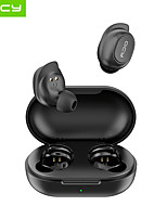 cheap -QCY T9S TWS Stereo Wireless Earbuds Mini Bluetooth Earphones Waterproof IPX4 Auto Pairing Headphones