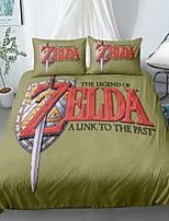 cheap -Home Textiles 3D Bedding Set  Duvet Cover with Pillowcase 2/3pcs Bedroom Duvet Cover Sets  Bedding the Legend of Zelda