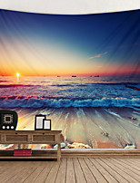 cheap -Beautiful Snset Digital Printed Tapestry Decor Wall Art Tablecloths Bedspread Picnic Blanket Beach Throw Tapestries Colorful Bedroom Hall Dorm Living Room Hanging