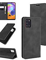 Недорогие -для Samsung Galaxy A10 / A20 / A30 ретро-кожа бизнес магнитный чехол с держателем&усилитель; слоты для карт&усилитель; бумажник