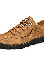 cheap -Men's Summer Outdoor Sneakers Suede Non-slipping Light Brown / Black / Khaki