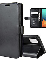 cheap -For Samsung Galaxy A71/A71 5G R64 Texture Single Fold Horizontal Flip Leather Case with Holder & Card Slots & Wallet