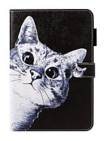 cheap -Case For Apple iPad Air / iPad Mini 3/2/1 / iPad Mini 4 Wallet / Card Holder / with Stand Full Body Cases Cat PU Leather