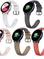 cheap -Watch Band for Vivoactive 3 / Samsung Galaxy Watch 46mm / Samsung Galaxy Watch 42mm Samsung Galaxy Sport Band / Classic Buckle / Business Band Genuine Leather Wrist Strap