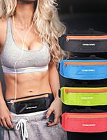 cheap -Running Belt Fanny Pack Belt Pouch / Belt Bag for Running Hiking Outdoor Exercise Traveling Sports Bag Reflective Adjustable Waterproof Nylon Men's Women's Running Bag Adults