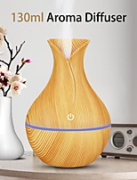 cheap -USB Electric Auto Home Steam Humidifier Aroma Anion Car Essential Oil Diffuser Air Freshener Wood Grain Aromatherapy Atomizer