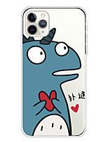 cheap -Case For Apple iPhone 11/11 Pro/11 Pro Max/XS/XR/XS Max/8 Plus/7 Plus/6S Plus/8/7/6/6s/SE/5/5S Transparent Pattern Back Cover Monster Soft TPU