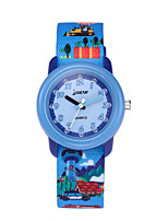 cheap -Kids Sport Watch Automatic self-winding Sporty Ocean Blue Water Resistant / Waterproof Adorable Analog Christmas - Blue