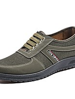 cheap -Men's Summer Outdoor Sneakers PU Army Green / Brown / Coffee