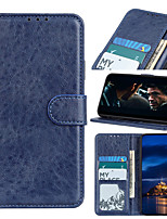 cheap -Case For Samsung Galaxy NOTE 20 NOTE 10 LITE A81 NOTE 10 NOTE 10 Plus Note 9 Card Holder Flip Magnetic Full Body Cases  PU Leather TPU Vintage solid color