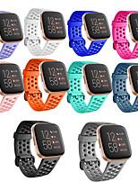 Недорогие -Ремешок для часов для Fitbit Versa / Fitbi Versa Lite / Fitbit Versa2 Fitbit Современная застежка TPE Повязка на запястье