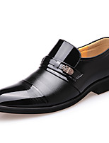 cheap -Men's Spring & Summer / Fall & Winter Business / Classic Daily Office & Career Loafers & Slip-Ons Walking Shoes Leather Shock Absorbing Wear Proof Brown / Black
