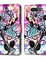 cheap -Case For LG Q70 / LG K50S / LG K40S Wallet Card Holder with Stand Full Body Cases Hollow Flower PU Leather TPU for LG K30 2019 LG K20 2019 LG X Power