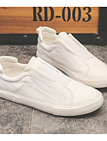 cheap -Men's Summer Outdoor Sneakers PU Non-slipping White / Black