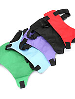 cheap -Dog Cat Pets Harness Adjustable Size Foldable Cute and Cuddly Vest Durable Casual / Daily Safety Solid Colored Classic Polyester Beagle Bulldog Pug Bichon Frise Shih Tzu Dachshund Purple Red 1pc