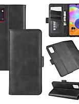 Недорогие -для Samsung Galaxy A71 / A51 / A31 / A21 Стенд кошелек кожаный чехол для мобильного телефона с кошельком&усилитель; держатель&усилитель; слоты для карт