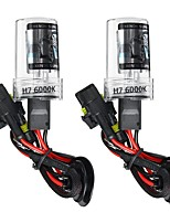 cheap -2Pcs H7 Car HID Xenon Headlights Bulbs Conversion KIT 55W DC 9-16V 5500LM 5000K/6000K/8000K IP68