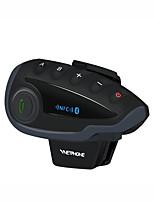 Недорогие -Bluetooth-гарнитура с радиоуправлением для мотоциклов V8SV / Интерком на 5 человек Bluetooth NFC FM / 1200 м Интерком / 3,0 Bluetooth / Режим ожидания 240 часов / Водонепроницаемый и ветрозащитный