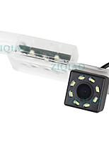 Недорогие -ziqiao 480 телеканалов 720 x 480 ccd проводная 170-градусная водонепроницаемая камера заднего вида / plug and play для автомобиля
