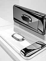 cheap -Magnetic Ring Lens Glass Protection Phone Case For Apple iphone 11 Pro Max SE 2020 XR XS Max X 8 Plus 7 Plus 6 Plus Smooth Hard PC Back Cover For SE 2020 Slim Fashion Shockproof Cases with Stand