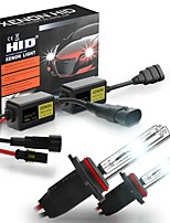 cheap -6000K HID Xenon Car Headlights Conversion Kit H1 H3 H4 H7 H8/H9/H11 9005 9006 880 9012 ERROR FREE with Ballast