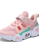 cheap -Boys' / Girls' Comfort Mesh / PU Trainers / Athletic Shoes Big Kids(7years +) Running Shoes Black / Pink / Beige Summer
