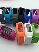 Недорогие -Ремешок для часов для Vivofit 2 Garmin Спортивный ремешок TPE Повязка на запястье