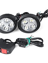 cheap -7 Inch Motorcycle Headlights Super Bright LED DRL Bulb With Switch