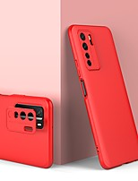 cheap -Case For Huawei Huawei Nova 6SE / nova 7i / nova 7 SE Shockproof Back Cover Solid Colored TPU